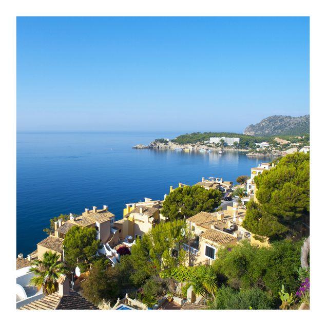 Fototapete Cala Fornells in Mallorca