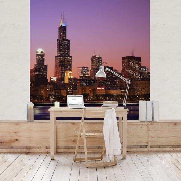 Fototapete Chicago Skyline