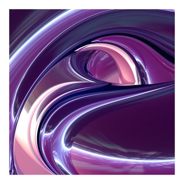 Fototapete Circles in Purple