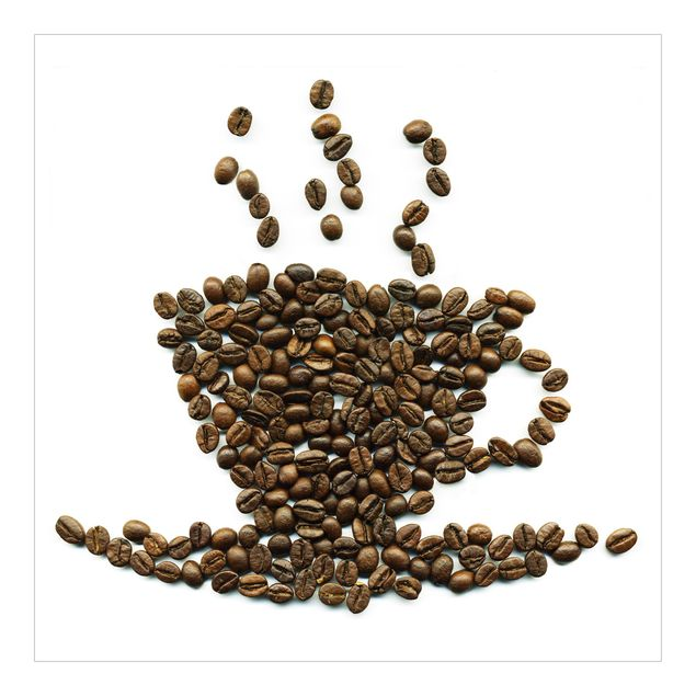 Fototapete Coffee Beans Cup