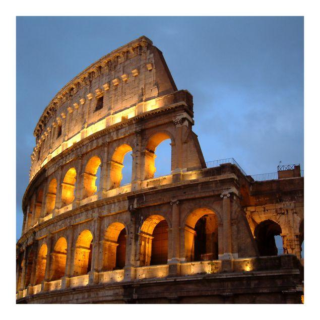 Fototapete Colosseum at Night