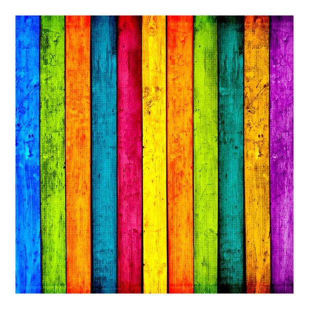 Fototapete Colourful Palisade