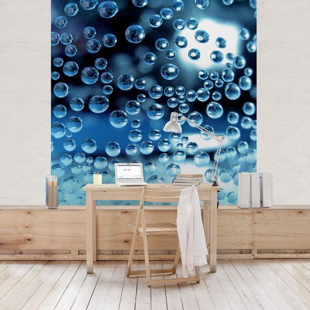 Fototapete Dark Bubbles