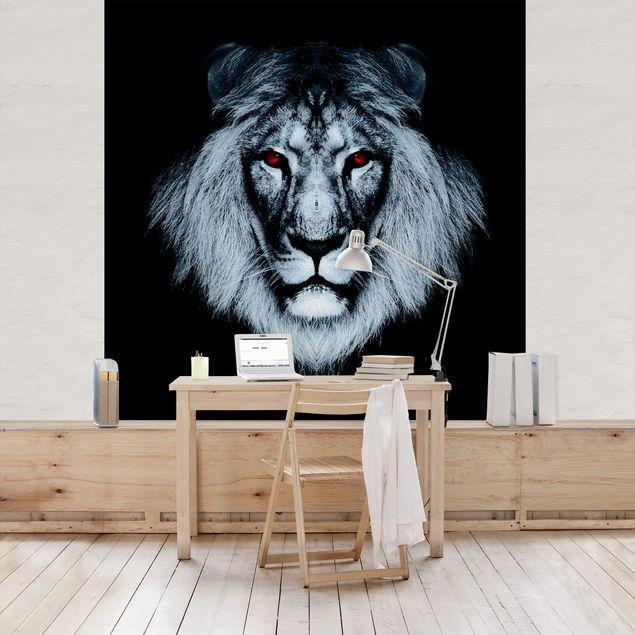Fototapete Dark Lion