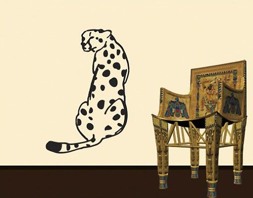 Wandtattoo No.UL194 Gepard 4