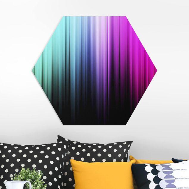 Hexagon Bild Forex - Rainbow Display