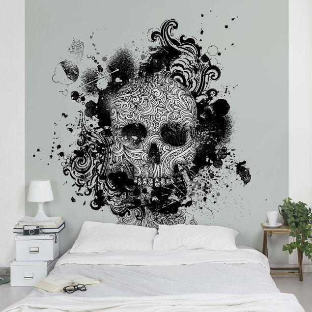 Fototapete Skull
