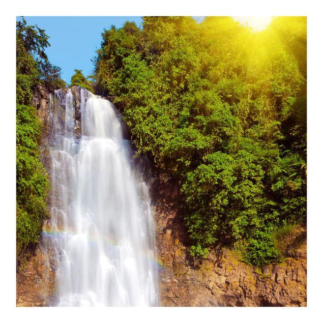 Fototapete Wasserfall Romantik