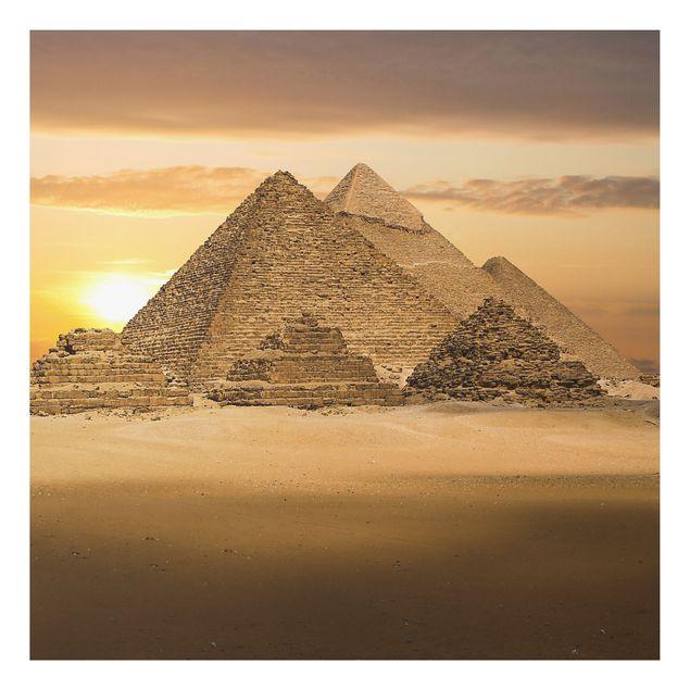 Alu-Dibond Bild - Dream of Egypt