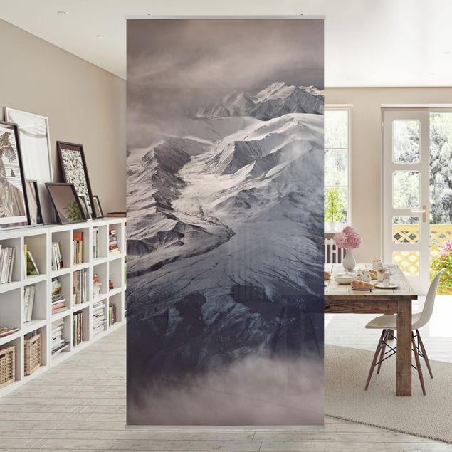 Raumteiler - Berge von Tibet - 250x120cm