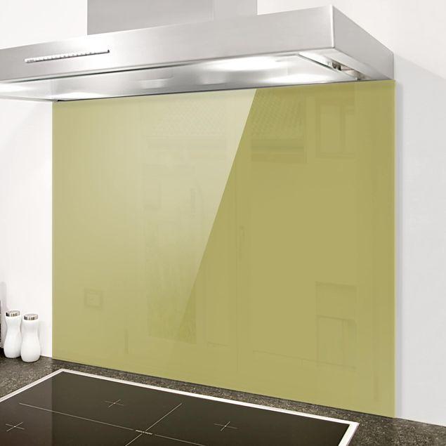 Glas Spritzschutz - Lindgrün Bambus - Querformat - 4:3
