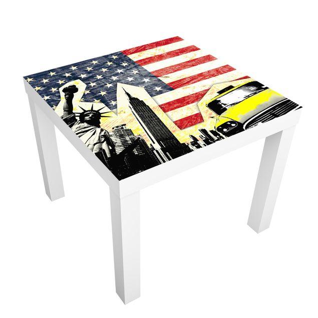 Möbelfolie für IKEA Lack - Klebefolie This is New York!