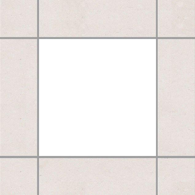 Fliesenaufkleber - Weiß