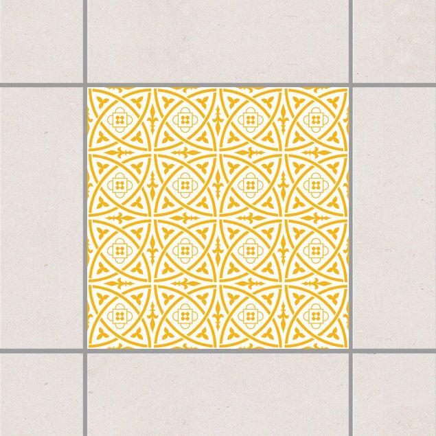 Fliesenaufkleber - Keltisch White Melon Yellow Gelb