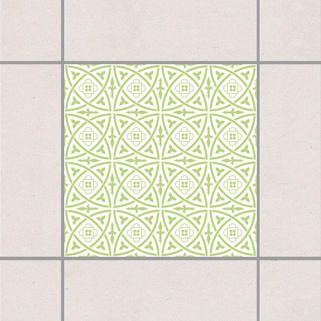 Fliesenaufkleber - Keltisch White Spring Green Grün