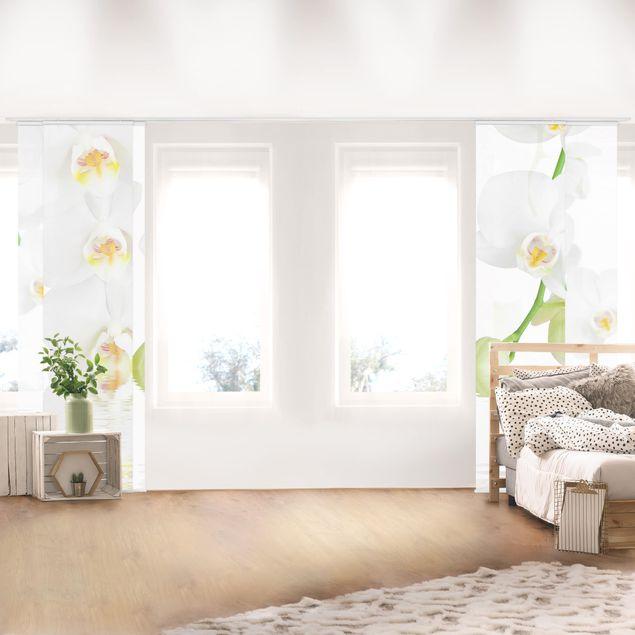 Schiebegardinen Set - Wellness_Orchidee - Flächenvorhänge