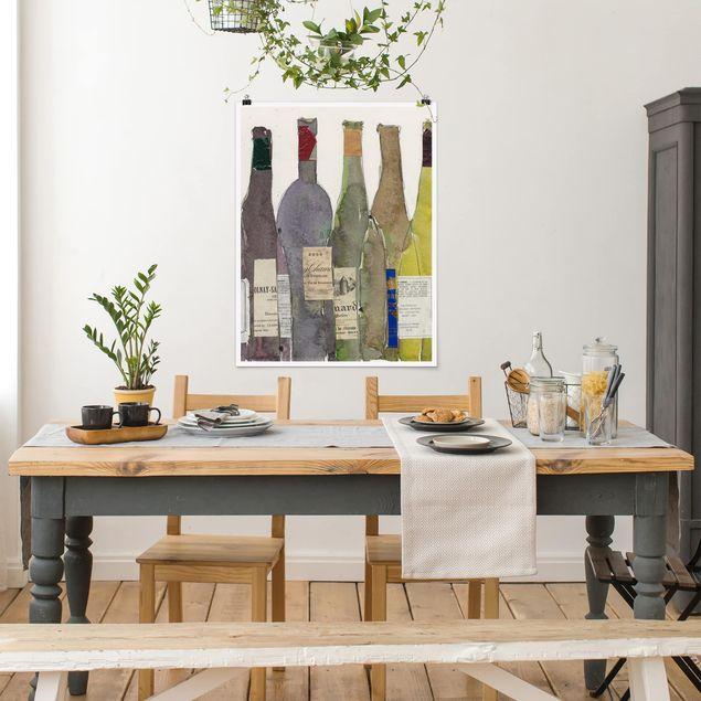 Poster - Wein & Spirituosen IV - Hochformat 3:4