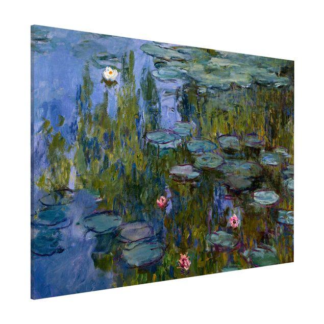 Magnettafel - Claude Monet - Seerosen (Nympheas) - Memoboard Querformat 3:4