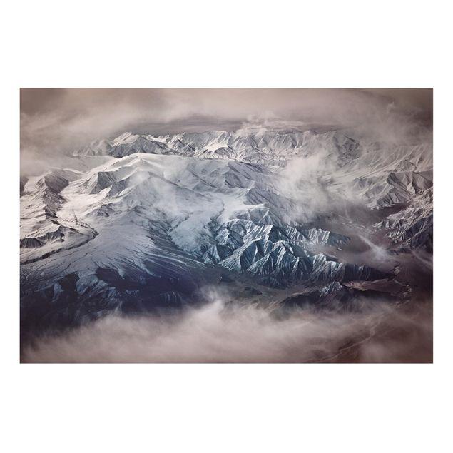 Forex Fine Art Print - Berge von Tibet - Querformat 2:3