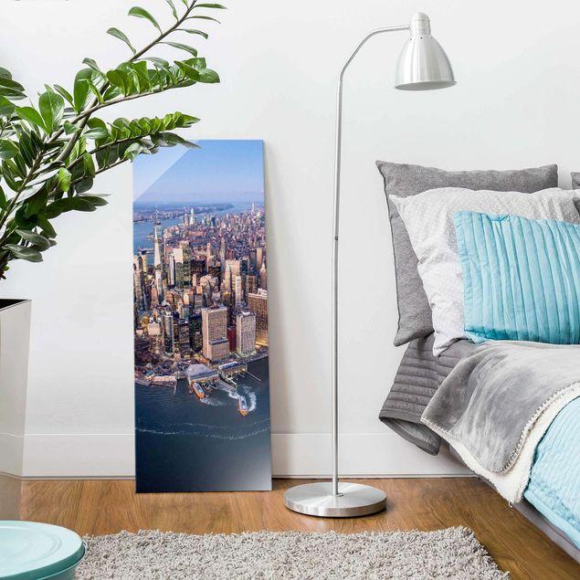 Glasbild - Big City Life - Panel