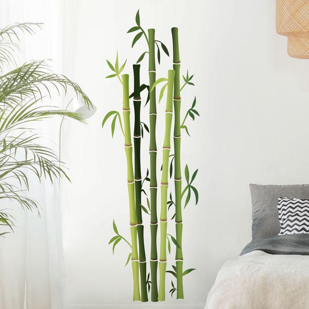 Wandtattoo Bambusstrauch