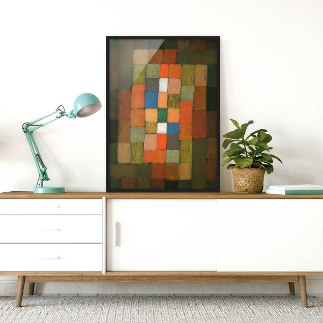 Bild mit Rahmen - Paul Klee - Steigerung - Hochformat 3:4