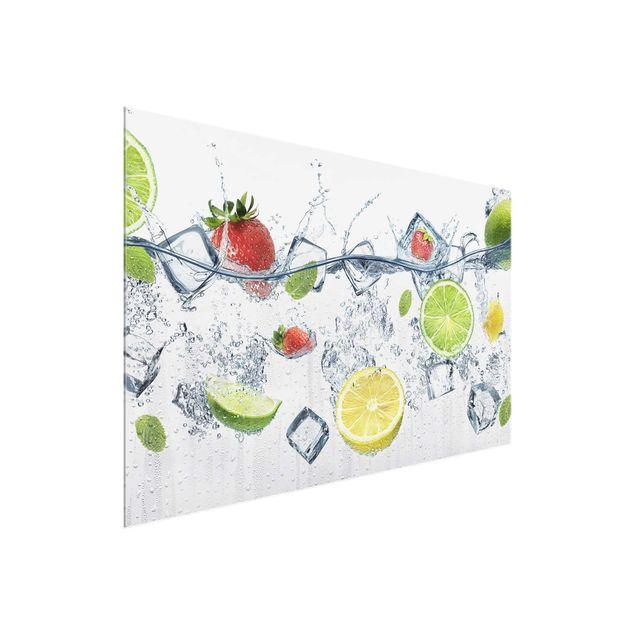 Glasbild - Frucht Cocktail - Quer 3:2