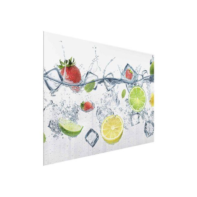 Glasbild - Frucht Cocktail - Quer 4:3