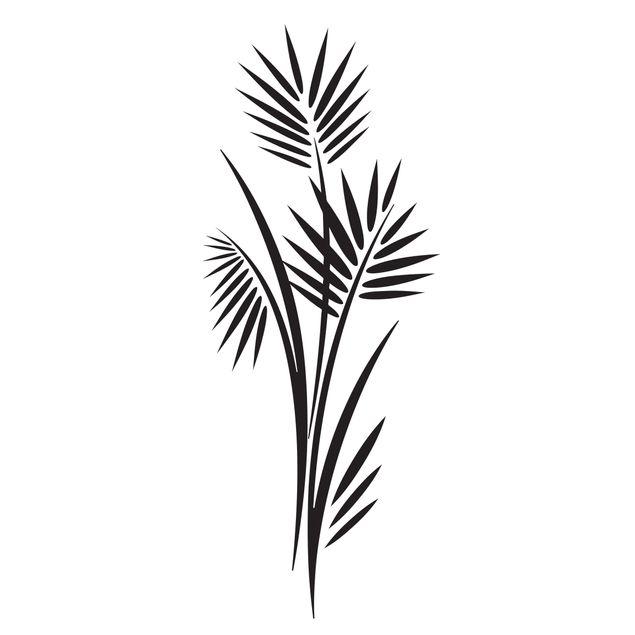 Wandtattoo Baum No.360 Palmenzweig