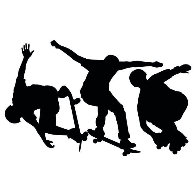 Wandtattoo No.401 Skate Sports