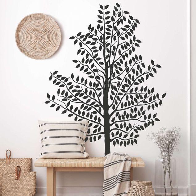 Wandtattoo Wald - Baum No.AC84 Baum mit Blättern