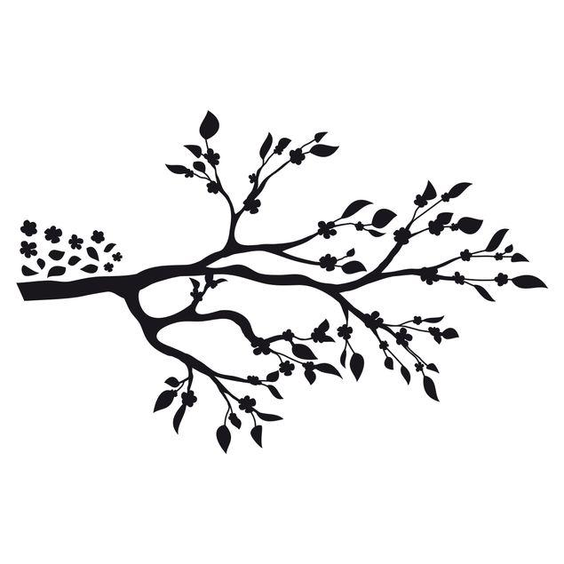 Wandtattoo Baum No.RS63 Blütenast II