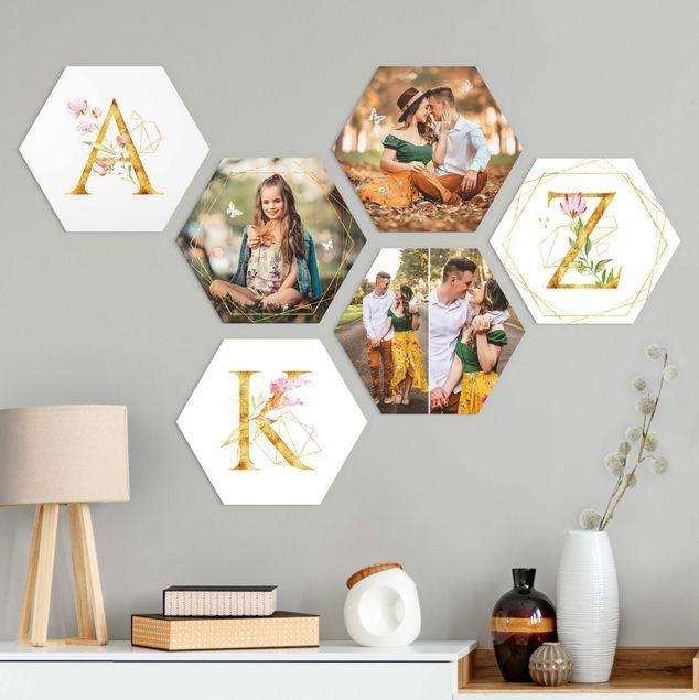 6-teiliges Hexagon Bild Forex selbst gestalten