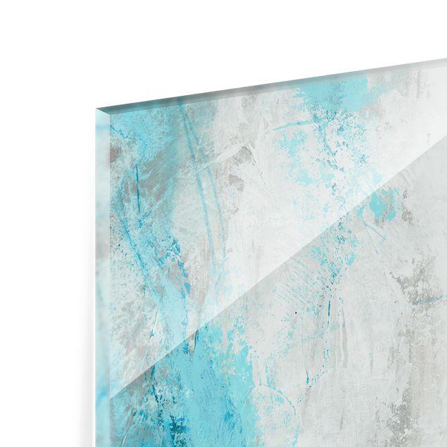 Glas Spritzschutz - Eismeer I - Querformat - 4:3