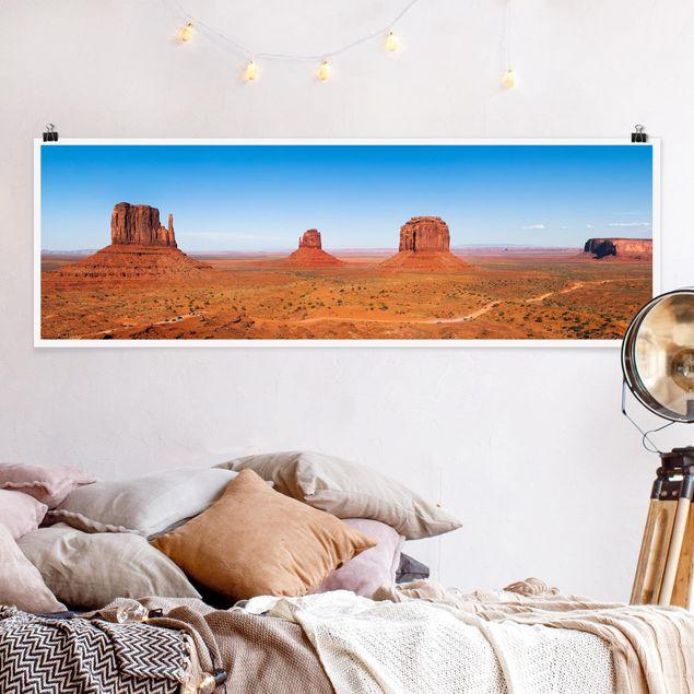 Poster - Rambling Colorado Plateau - Panorama Querformat