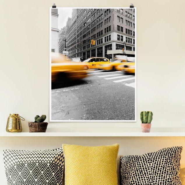 Poster - Rasantes New York - Hochformat 3:4