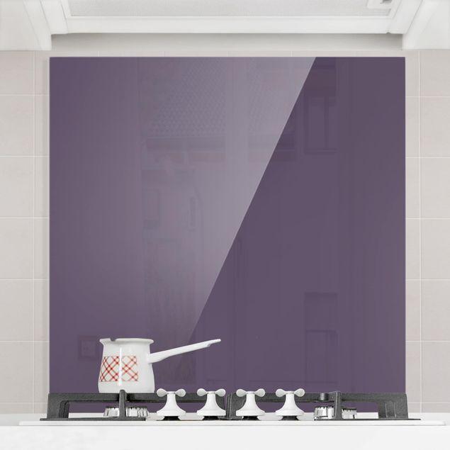 Glas Spritzschutz - Rotviolett - Quadrat - 1:1