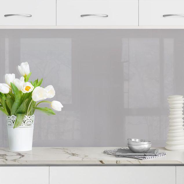 Küchenrückwand - Achatgrau