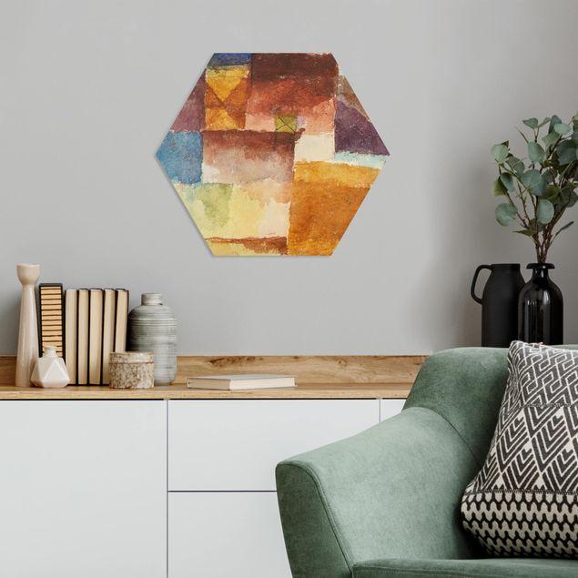 Hexagon Bild Forex - Paul Klee - Einöde