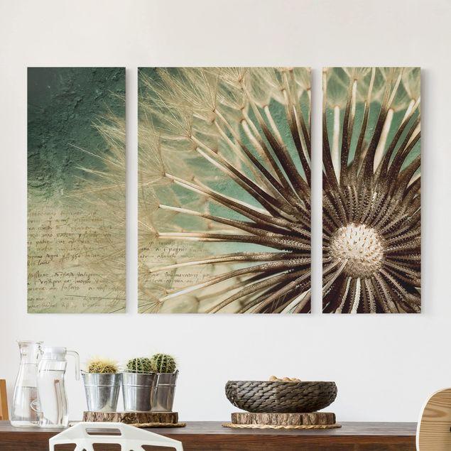 Leinwandbild 3-teilig - Closer than before - Triptychon