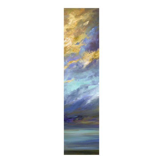 Schiebegardinen Set - Himmel über Küste - Flächenvorhang