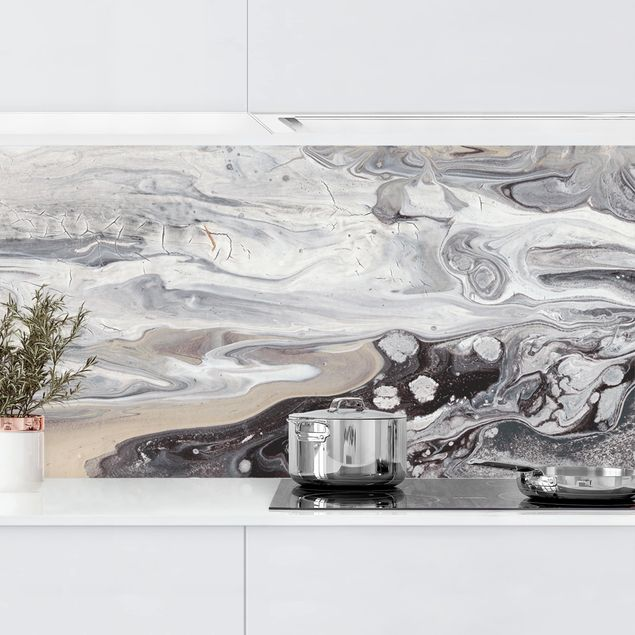 Küchenrückwand - Gesteinsschmelze III