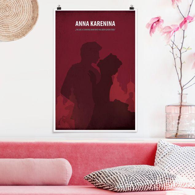 Poster - Filmposter Anna Karenina - Hochformat 3:2