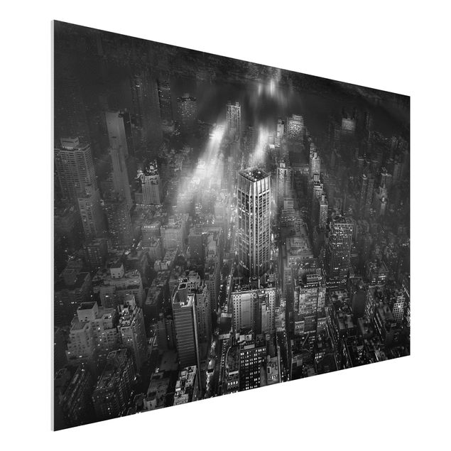 Forex Fine Art Print - Sonnenlicht über New York City - Querformat 2:3