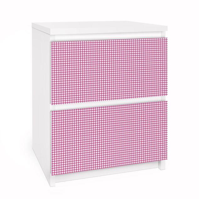 Möbelfolie für IKEA Malm Kommode - Selbstklebefolie Puppendecke