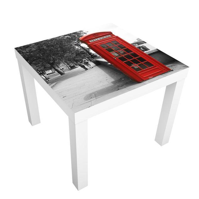 Möbelfolie für IKEA Lack - Klebefolie Telephone