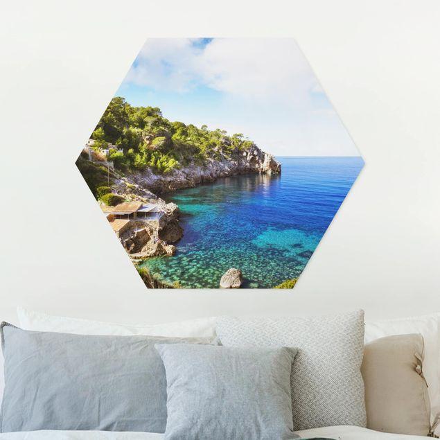 Hexagon Bild Forex - Cala de Deia in Mallorca