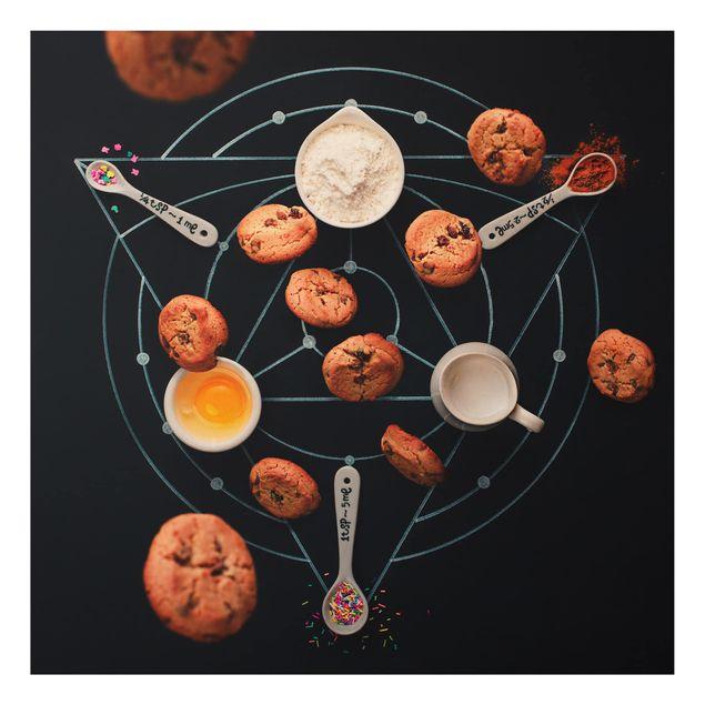 Alu-Dibond Bild - Alchemie des Backens