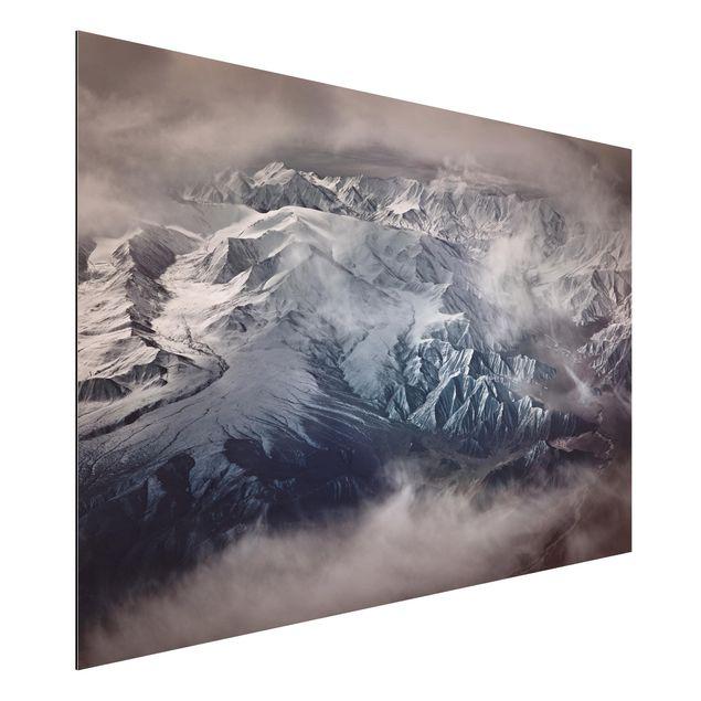 Aluminium Print - Berge von Tibet - Querformat 2:3