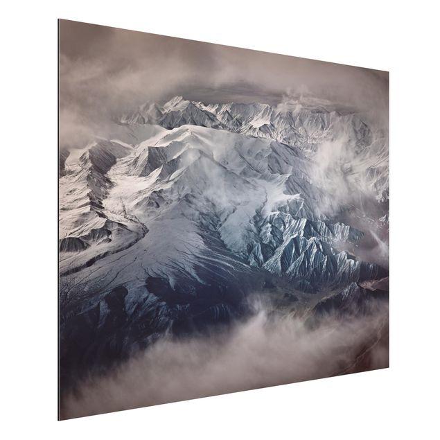 Aluminium Print - Berge von Tibet - Querformat 3:4